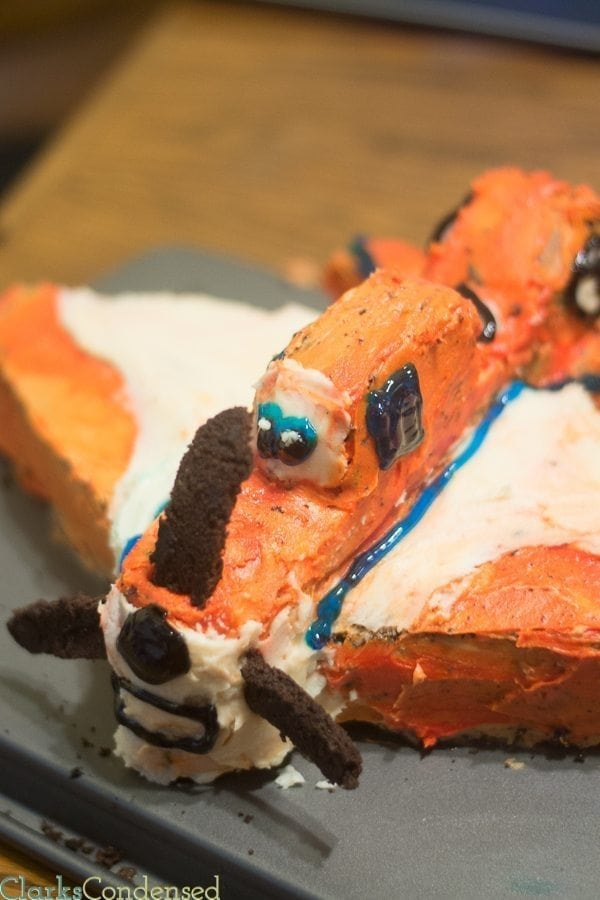 My son absolutely loved this Dusty Crop Hopper cake that we made for his birthday! Here's a few tips on how we made it. It's a great base for any airplane cake!