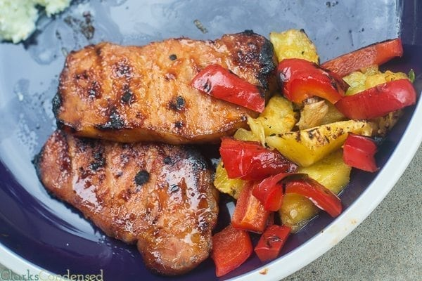 Sweet and Spicy Pork Chops Recipe