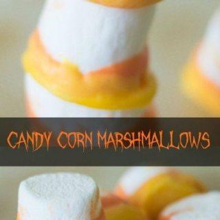 Candy Corn Marshmallows