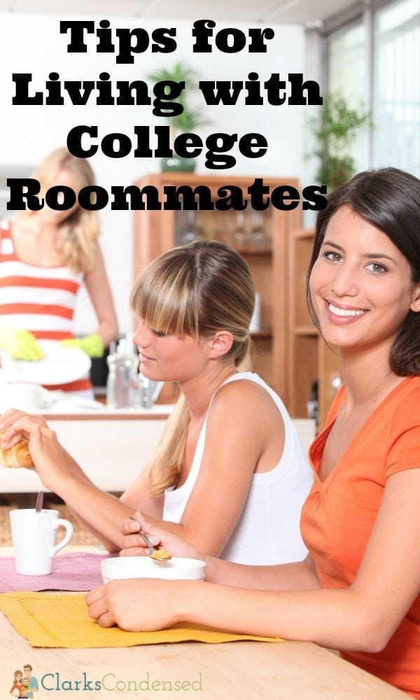 Tips for living with college roommates in harmony!