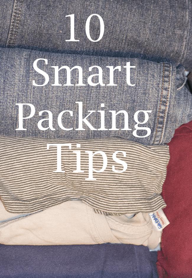 10 smart packing tips for easier traveling!