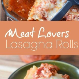 Meat Lover's Lasagna Rolls Recipe