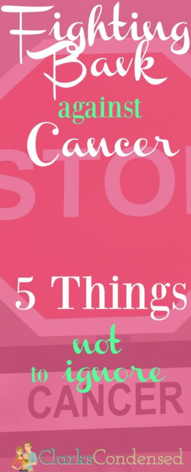 cancer signs not to ignore