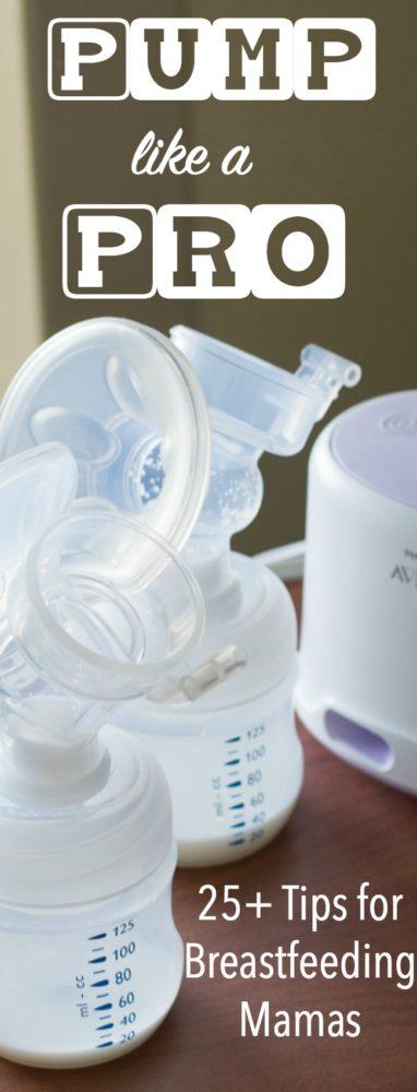Breast Pumping Tips