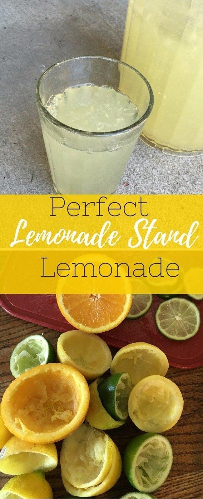 Perfect Lemonade StandLemonade