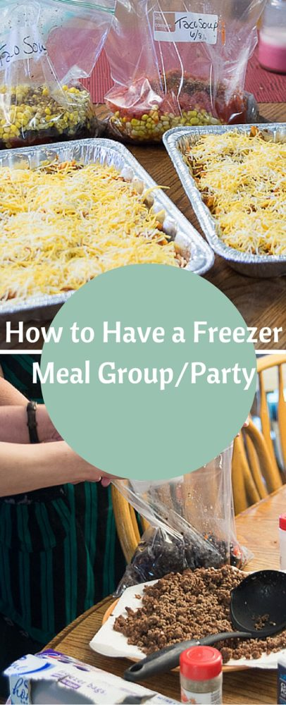 How to Have a Successful Freezer meal Group/Party via @clarkscondensed