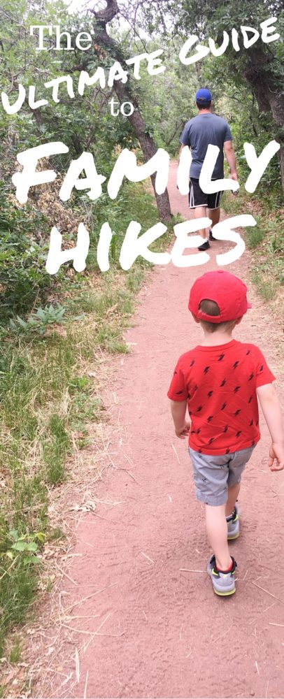Hiking is an excellent outdoor activity for families - here is the ultimate guide to hiking with children so you can have the best (and safest) hike ever!)  via @clarkscondensed
