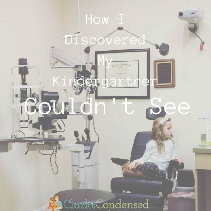 How I Discovered That My Kindergartner