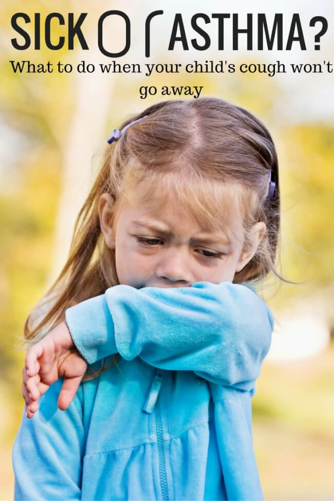 Sick or Asthma: What to do when your child's cough won't go away via @clarkscondensed