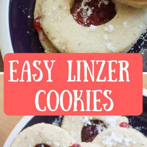 Easy Linzer Cookies
