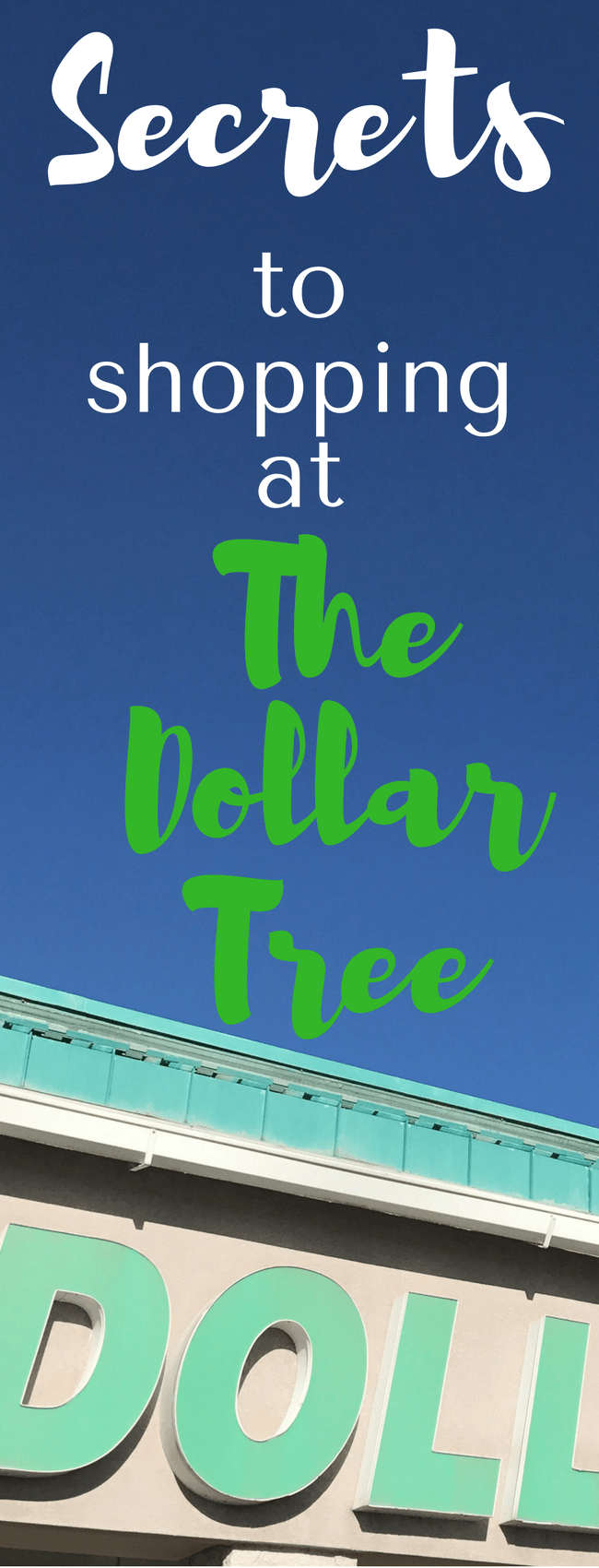Spending tons of time on Dollar Tree DIY Projects? Here are some secrets and tips for shopping at the Dollar Tree you won't want to miss! via @clarkscondensed