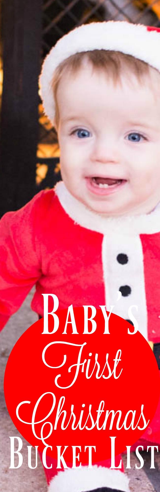 Christmas Bucket list / Baby Christmas Bucket list / Bucket list / Winter Bucket List / Baby's First Christmas
