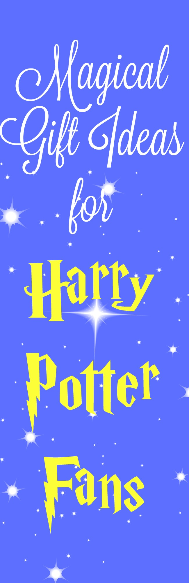 Magical gift ideas for Harry Potter Fans via @clarkscondensed