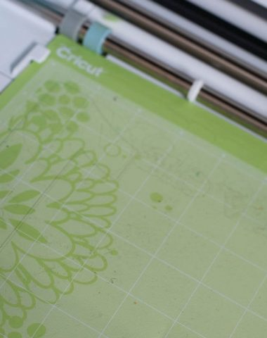 cricut green mat