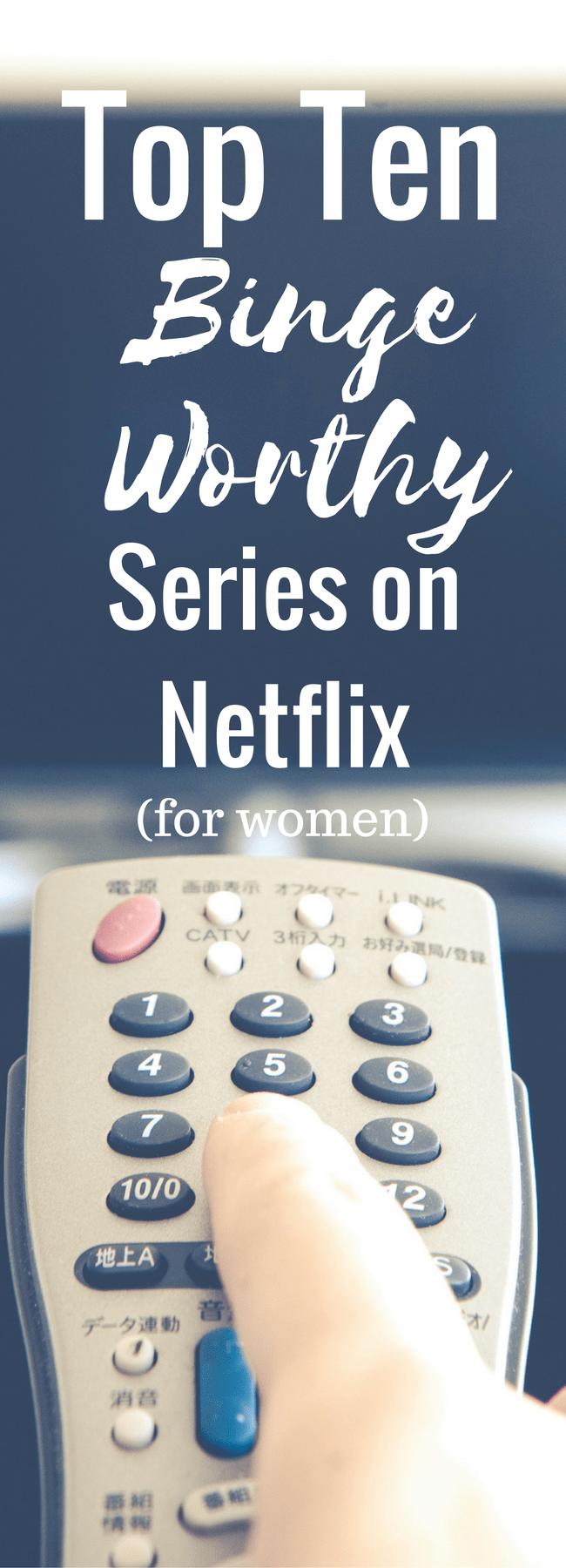 Netflix / Best Netflix Shows / Best Netflix Series / netflix addiction / netflix shows / netflix shows for women / netflix guide / netflix 2017 via @clarkscondensed