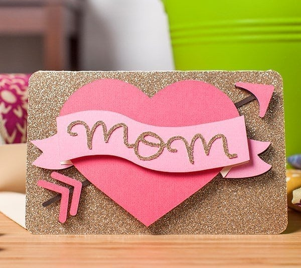 Mother\'s day heart card