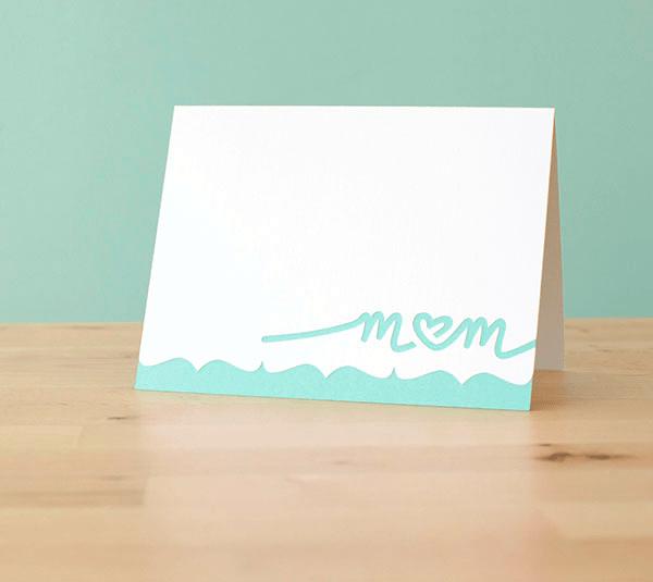 simple mom card
