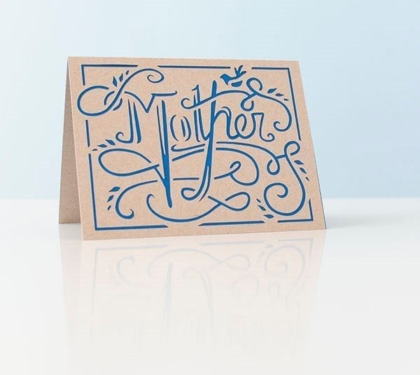 mother card with blue background
