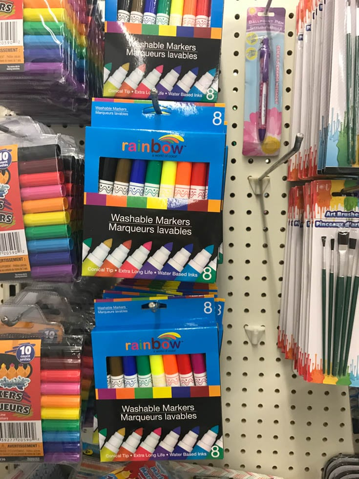 Dollar Store Products to Use for Cricut Projects