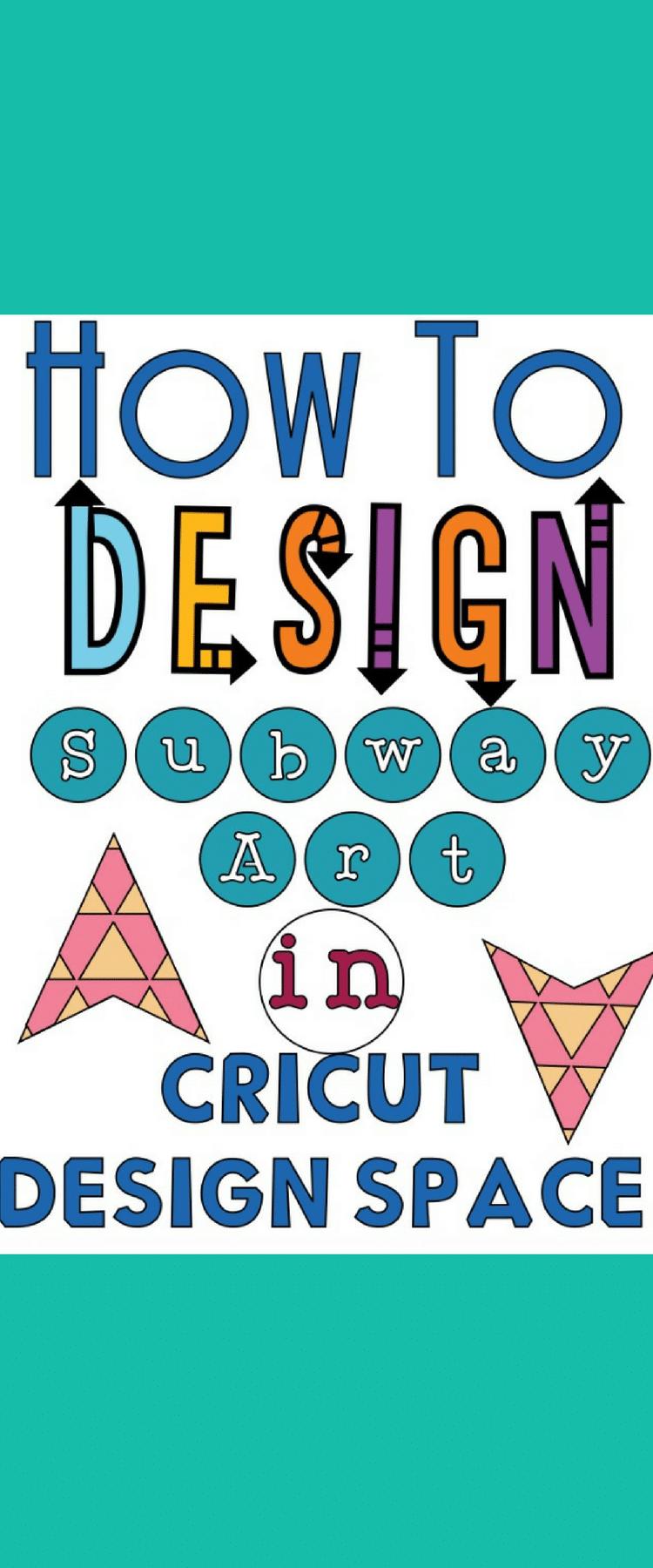 Subway Art / Cricut Design Space / Cricut Tutorial / Cricut Tips / Cricut Subway Art via @clarkscondensed