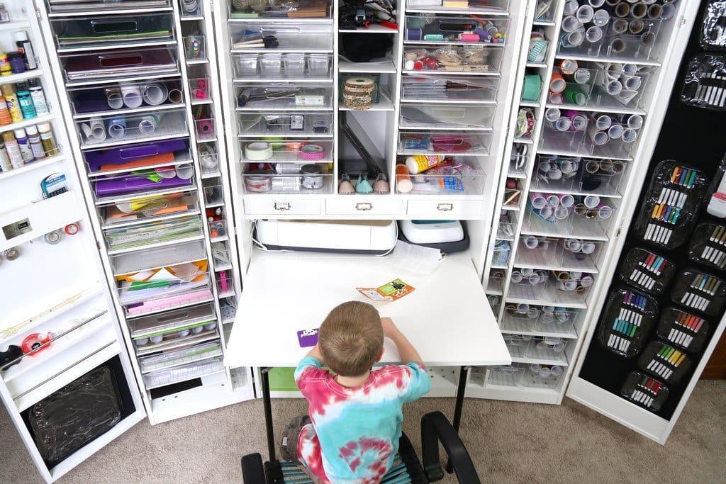 Free Cricut Craft Room: The Best Craft Storage Ideas