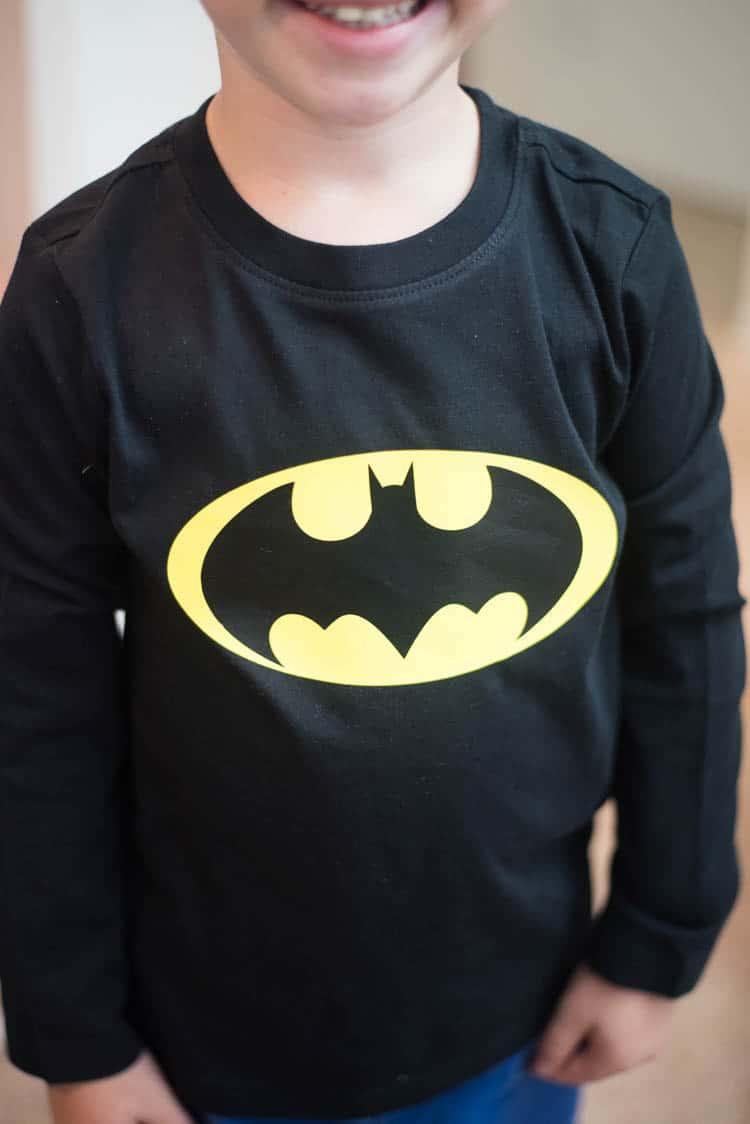 DIY Batman Shirt