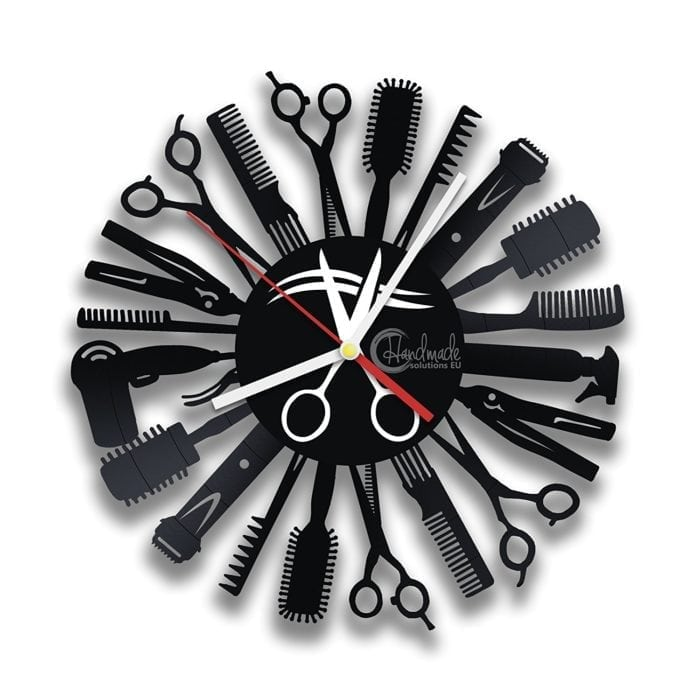 salon clock