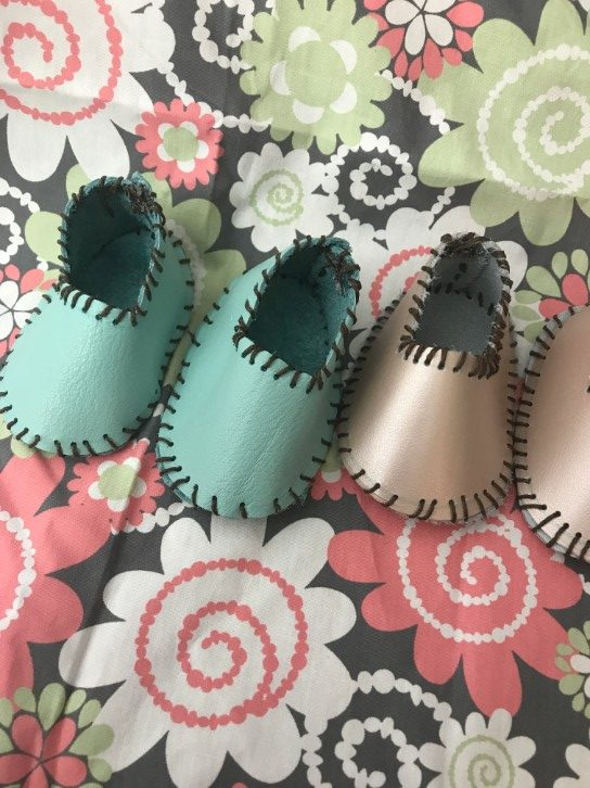 DIY Baby Shoes - Tutorial and Pattern