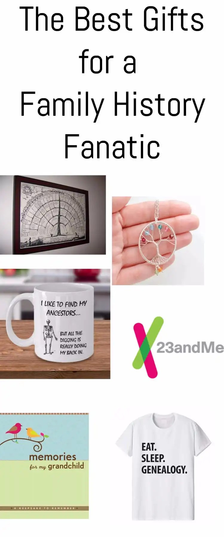 Family history gifts / family history gift ideas / genealogy / church / ancestry