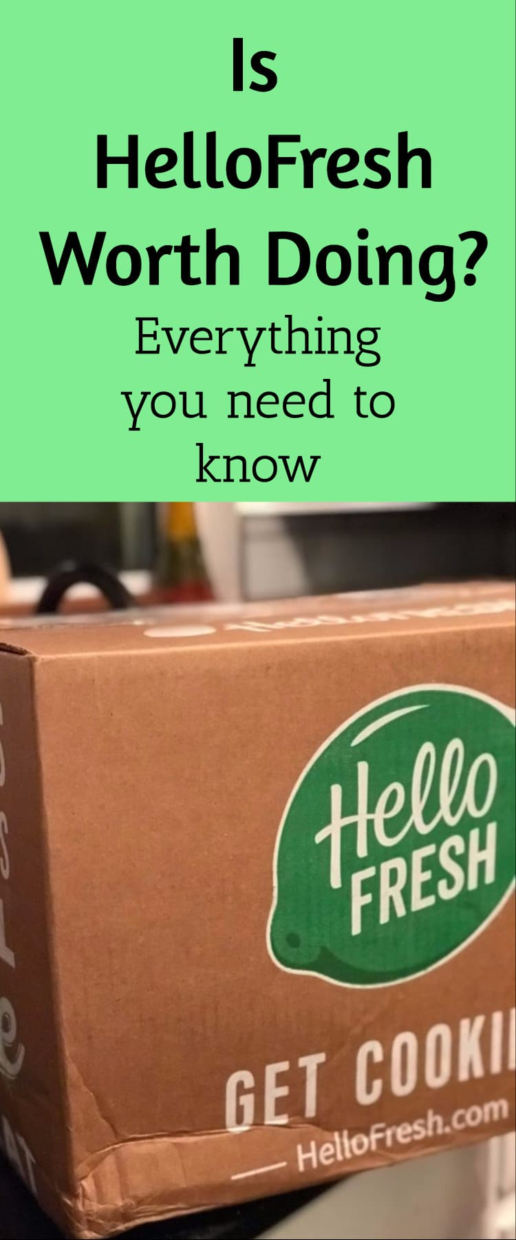 HelloFresh Review and Discount Code