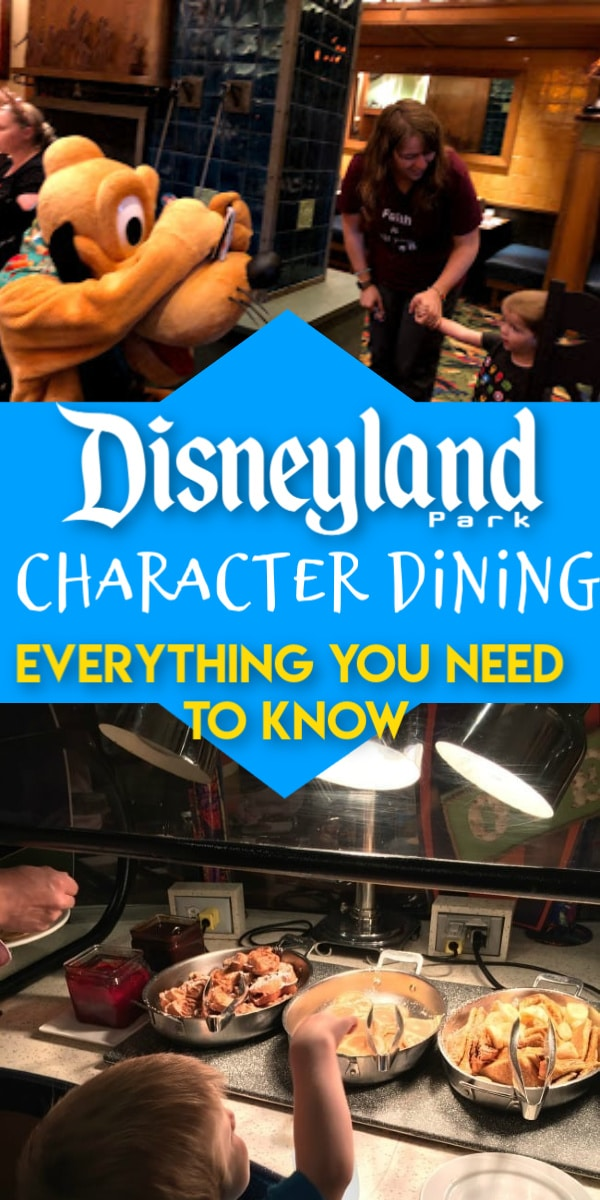 Everything you need to know about Disneyland Character Dining! Disneyland / Disneyland Secrets / Disneyland Character Dining / Disneyland Tips / disneyland!! / disneyland planning / Disneyland Food / Disneyland Characters via @clarkscondensed