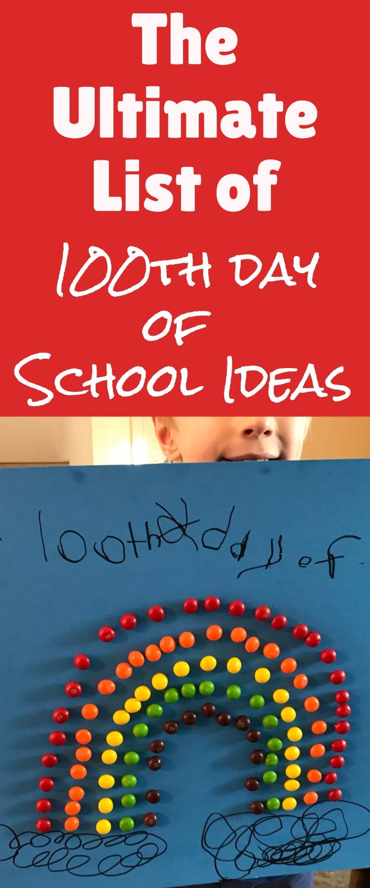 100 days of school / 100th day of school / 100th day of school ideas / kindergarten / kindergarten ideas / elementary school / class parent #100thdayofschool #100daysofschool #kindergarten