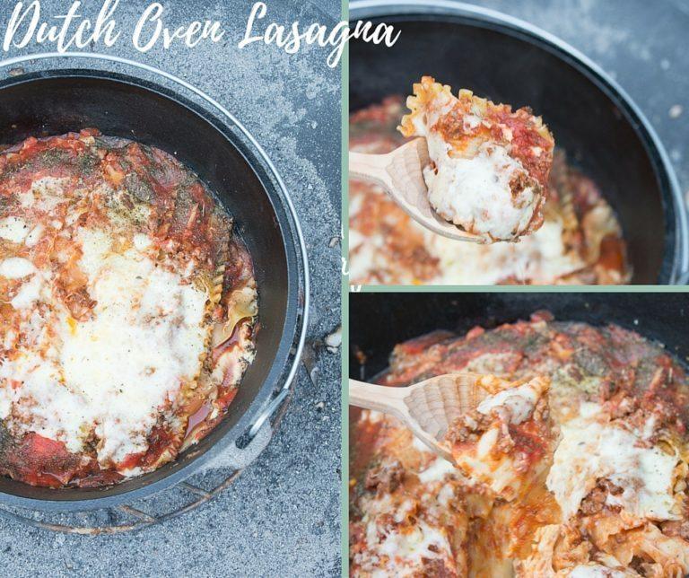 Dutch Oven Lasagna / Dutch Oven Recipes
