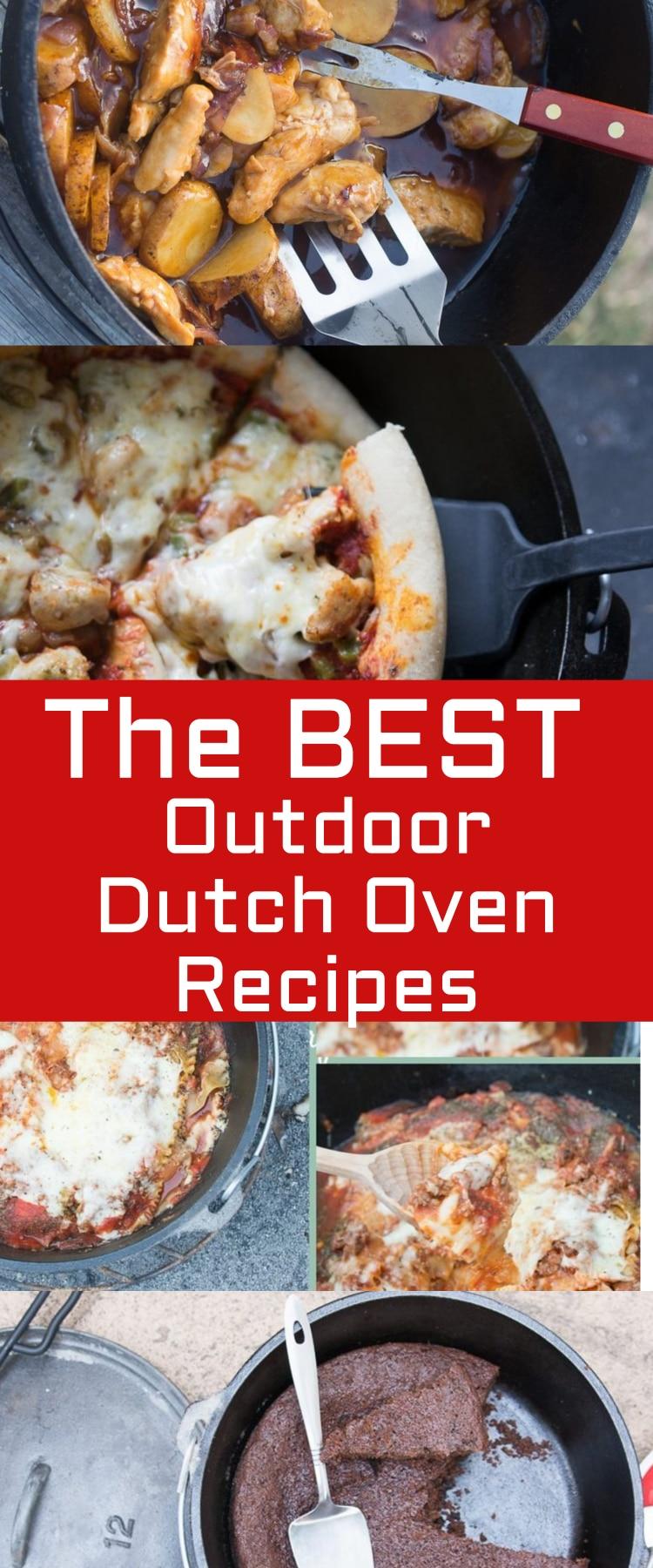 Dutch Oven Recipes / Best Dutch Oven Recipes / Dutch Oven Camping Recipes / Dutch Oven Camp Recipes