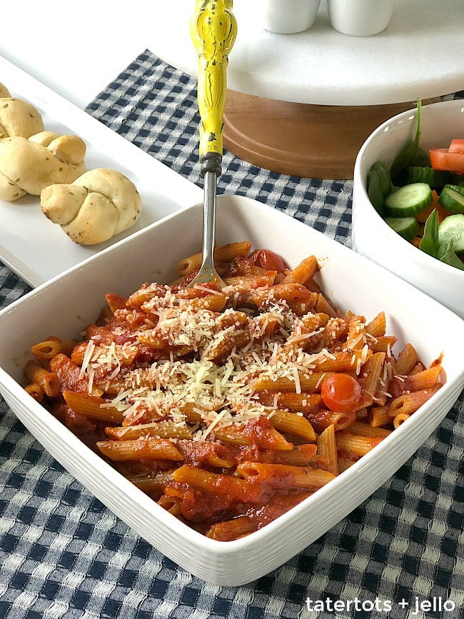 Basil Penne Pasta