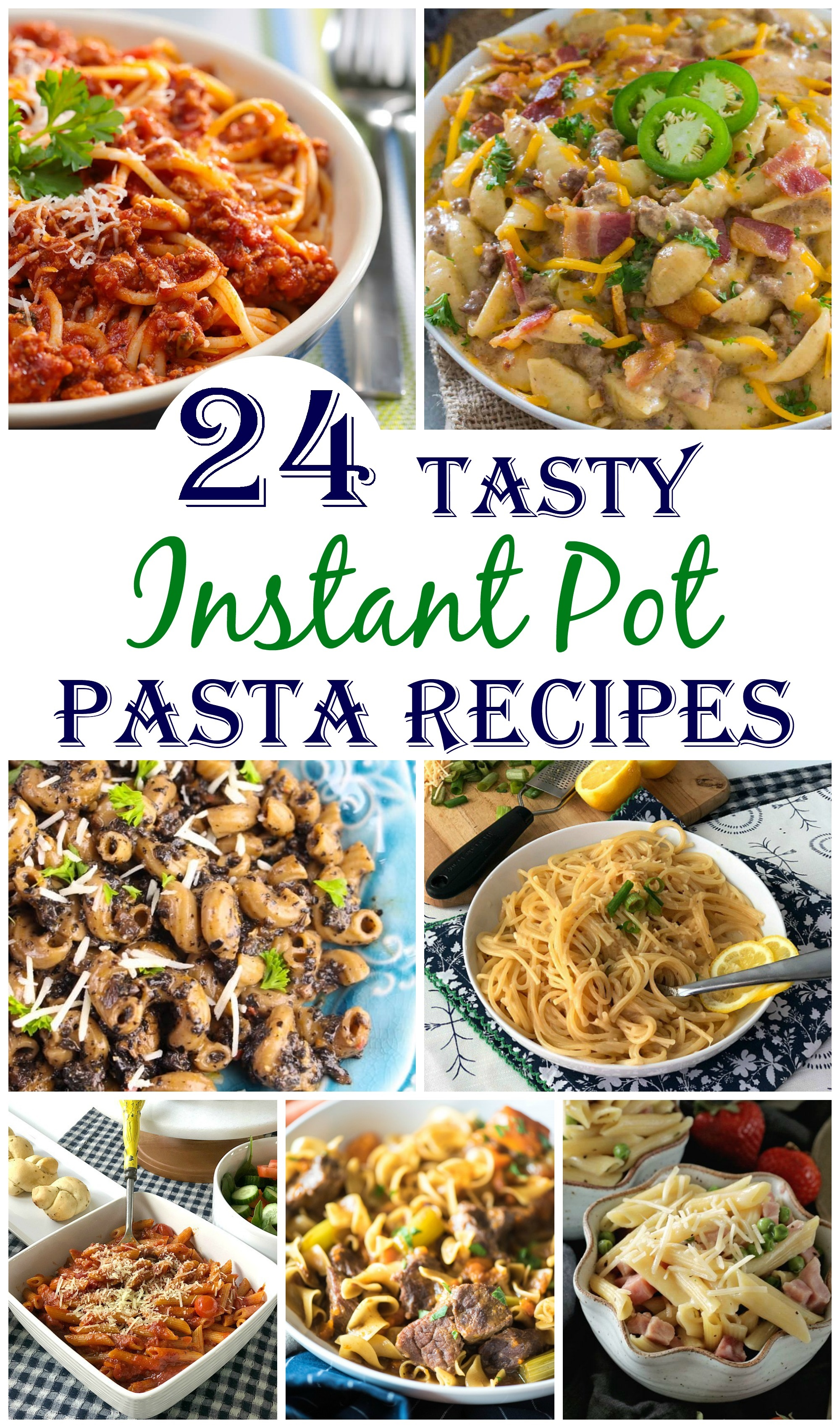 Instant Pot Pasta / Instant Pot Pasta Recipes / Instant Pot Spaghetti / Pasta in Instant Pot / #instantpot #pasta #pastarecipes  via @clarkscondensed