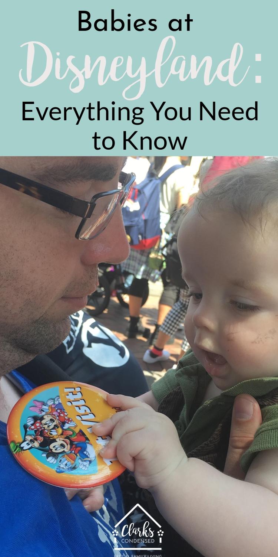 Disneyland / Disneyland and Babies / Baby at Disneyland / Travel / Family Travel via @clarkscondensed