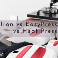 Iron vs Cricut EasyPress vs Heat Press: Which One Should YOU Get?