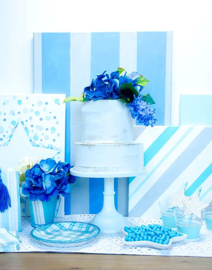 Little Star Baby Shower with Cricut by Lindi Haws of Love The Day