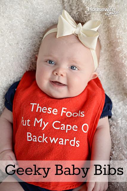 Geeky Baby Bibs