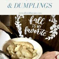 Quick and Easy Chicken & Dumplings