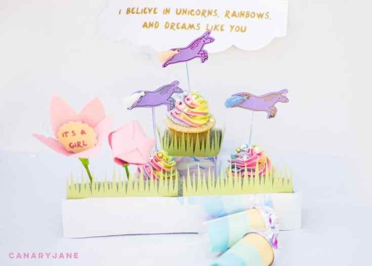 3 Rainbow Unicorn Gender Reveal Ideas