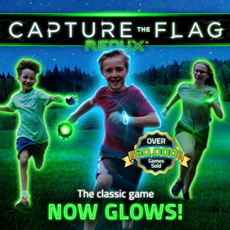 Capture the Flag REDUX: The Original Outdoor Game for Youth Groups, Birthdays and Team Building – a Unique Glow-in-The-Dark Gift