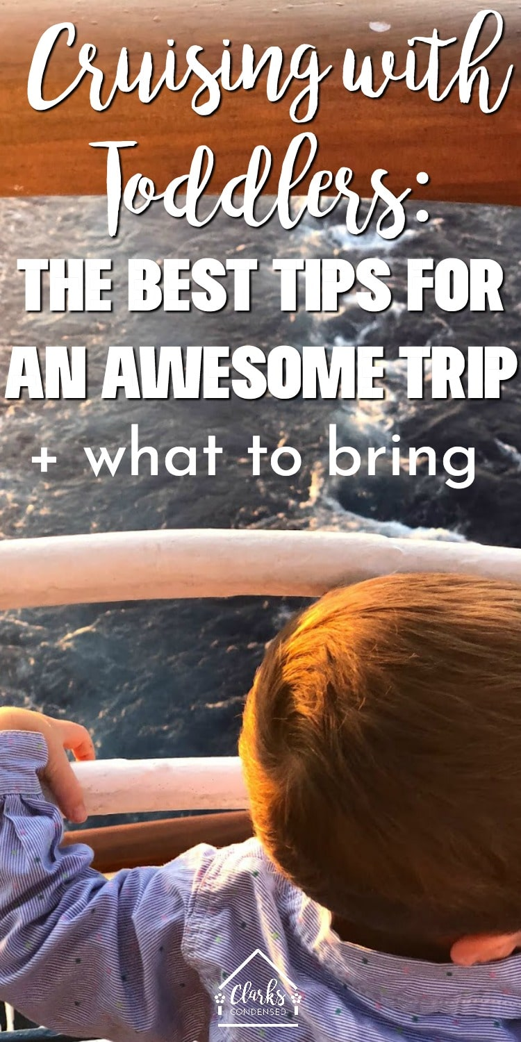 Cruise Tips / Family Cruise / Cruising with Toddlers / Tips for Family Cruises / Carnival Cruise #toddler #cruise #familyvacation  via @clarkscondensed