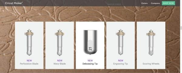 Engraving Tip QuickSwap Housing Cricut Maker Tool