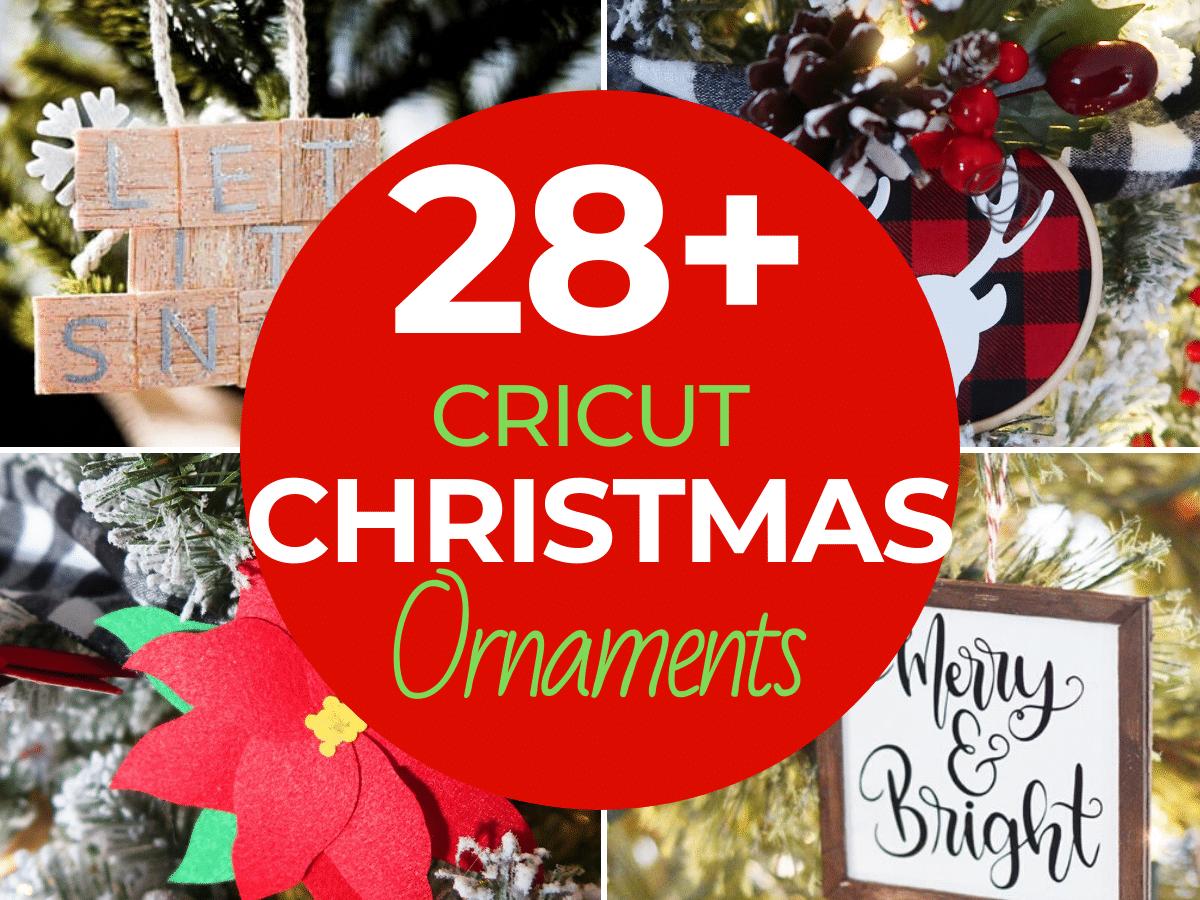 Cricut Christmas Ornament