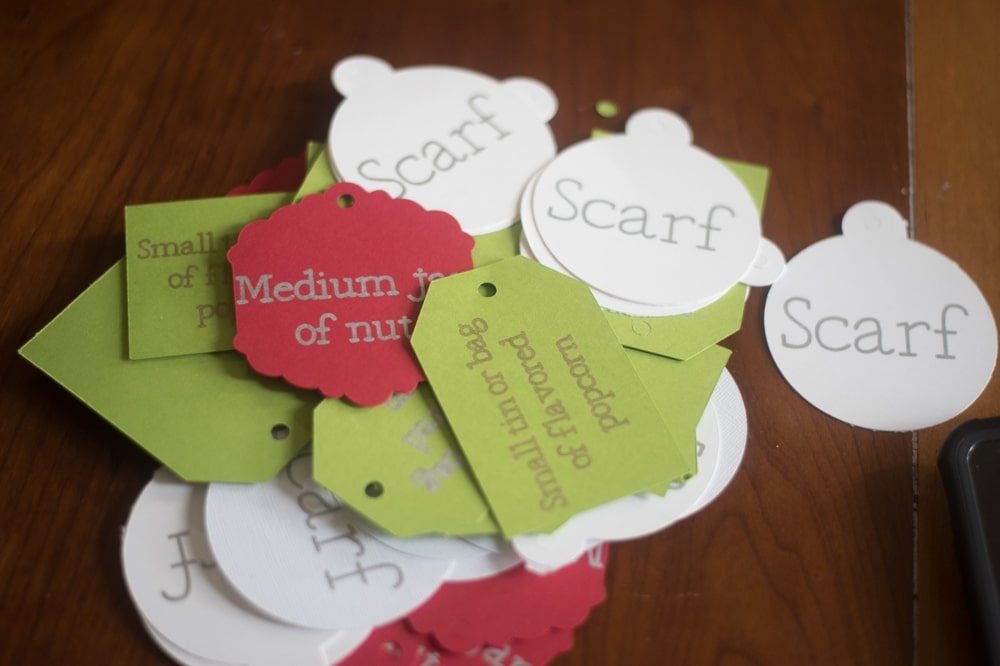 Gift Cards on wooden table