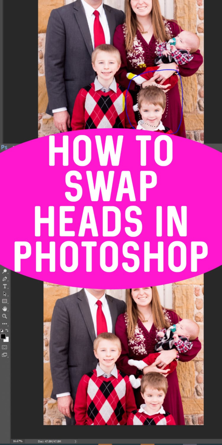How to swap heads in photoshop (easily!) This is an easy to follow photoshop tutorial! via @clarkscondensed