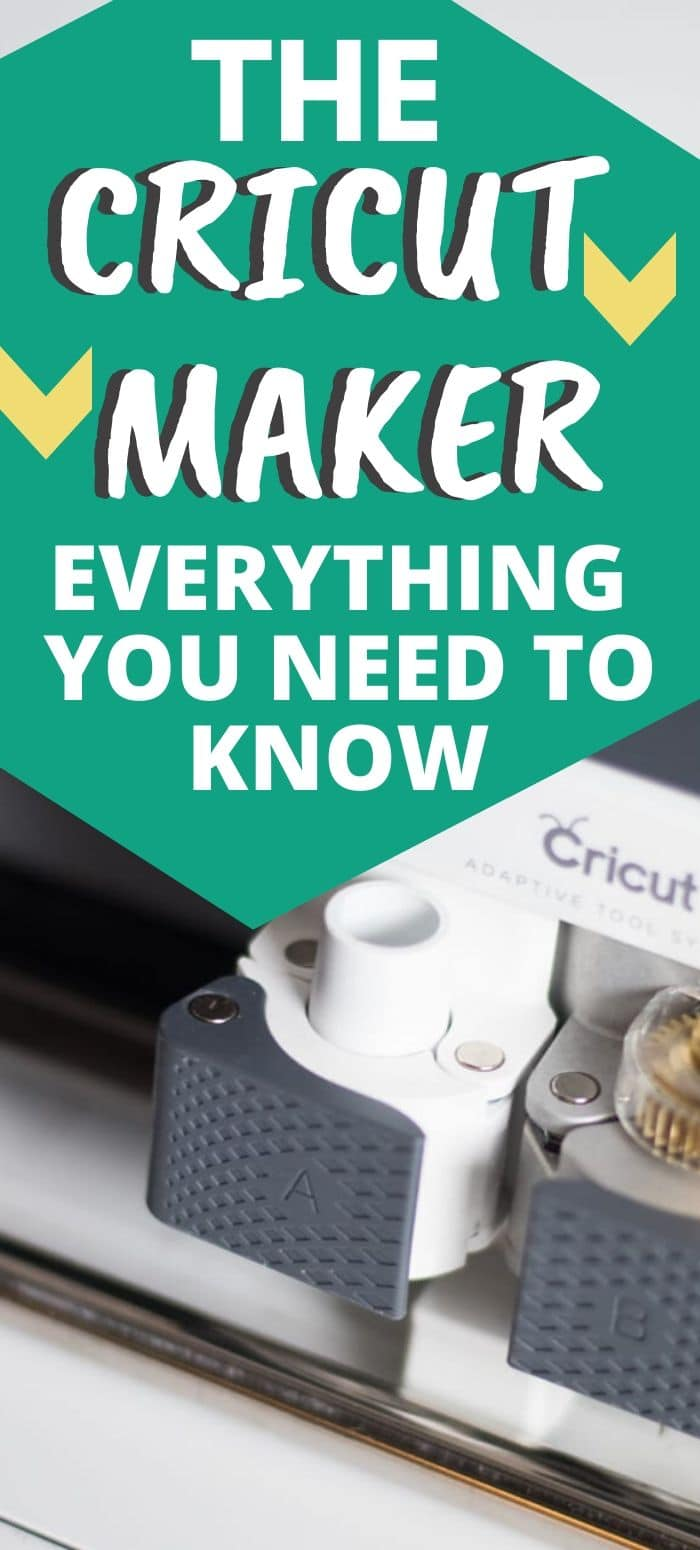 The Cricut Maker is one of the top personal cutters available on the market right now - is it the right one for you? Here is everything you need to know about this beast of a machine! The Cricut Maker / Cricut Maker / New Cricut Machine / Cricut Machine / Cricut Explore via @clarkscondensed