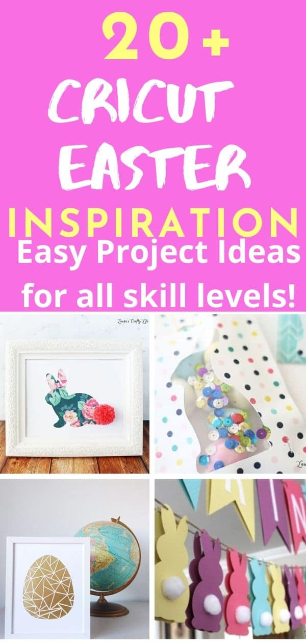 Cricut Easter Projects / Cricut Easter Ideas / Cricut Explore / Cricut Easter Ideas via @clarkscondensed